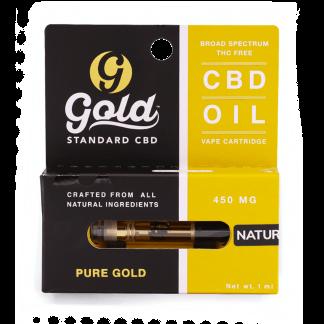 Gold Standard vaporizer cartridges