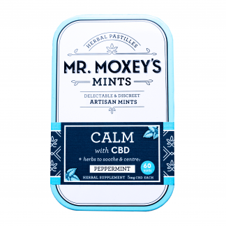 Mr. Moxey's Calm CBD Mints