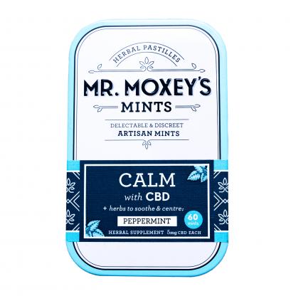 Mr. Moxey's Calm CBD Mints