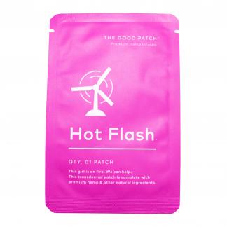 Hot Flash Hemp Infused CBD Patches
