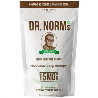 Dr. Norms Chocolate Chip Therapy Cookies