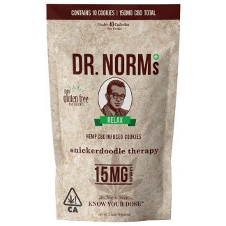 Dr Norm's Snickerdoodle Therapy Cookie