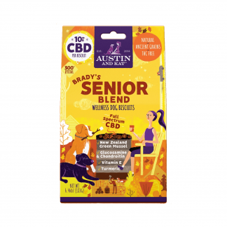 Brady's Senior Blend CBD Dog Biscuits