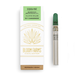 Sequoia Mint Mini CBD Vapor Pen