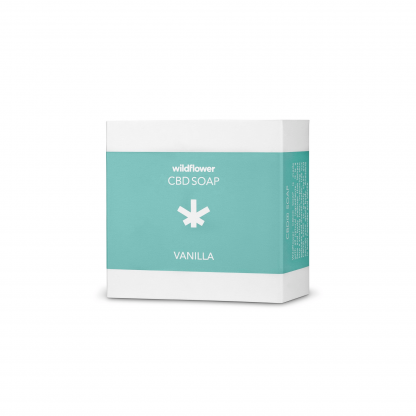 Wildflower's Natural CBD Vanilla Soap