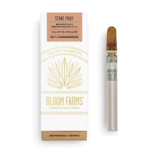 Stone Fruit Mini CBD Vapor Pen