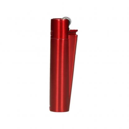 Clipper Lighter Metal Red