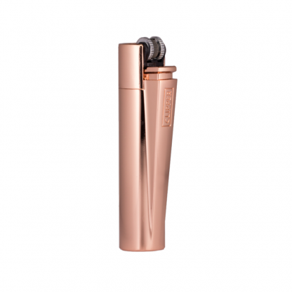 Clipper Lighter Metal Rose Gold