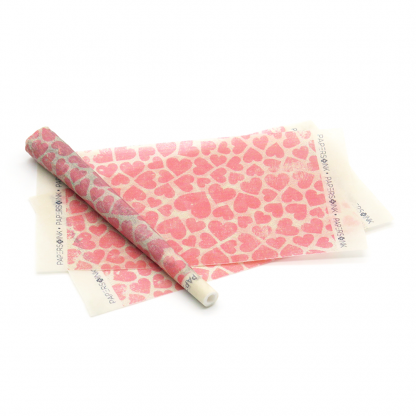 Papers and Ink Organic Papers Red Hearts