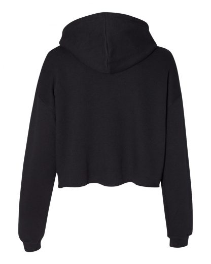 Good High Cropped Hoodie Back