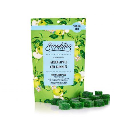 Smokiez Edibles Green Apple 500mg