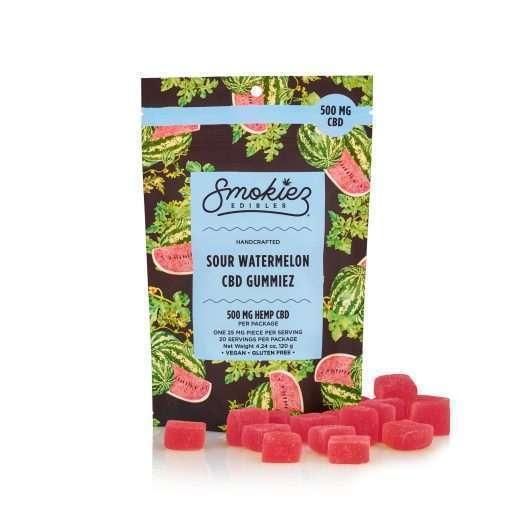 Smokiez Edibles Sour Watermelon 500mg