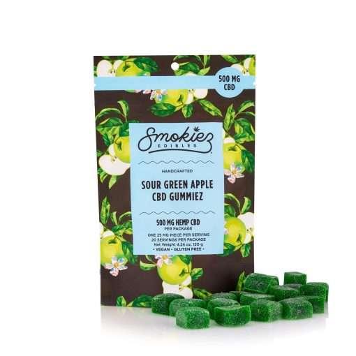 Smokiez Edibles Sour Green Apple 500mg